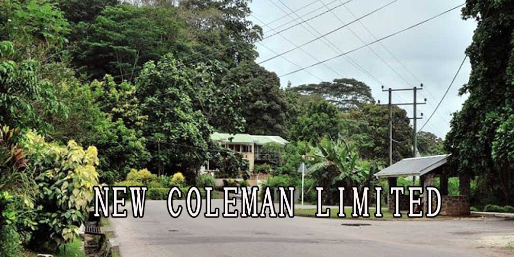 NEW COLEMAN LIMITED