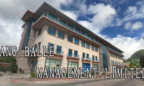 JANG BALLE MANAGEMENT LIMITED
