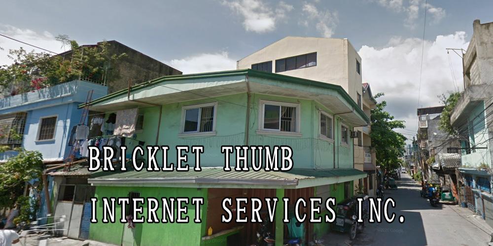 BRICKLET THUMB INTERNET SERVICES INC.